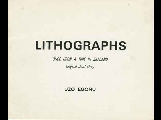 image of Lithographs: Once Upon a Time in Ibo-Land