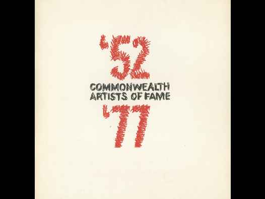 image of Commonwealth Artists of Fame 1952 - 1977 - catalogue