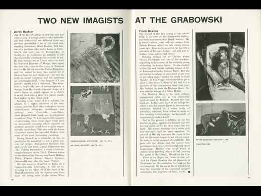 image of Two New Imagists at the Grabowski