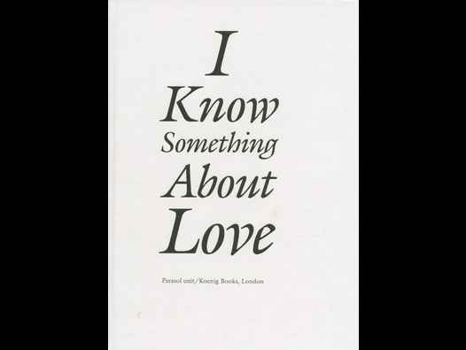 image of I Know Something About Love