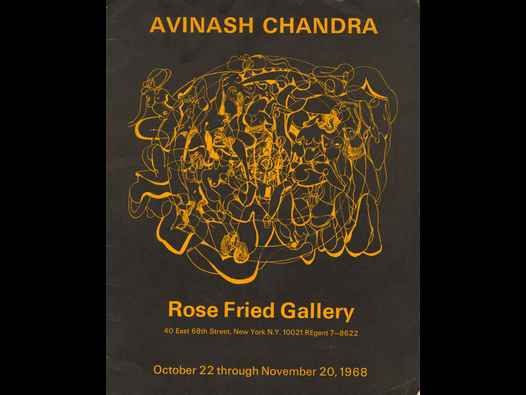 image of Avinash Chandra - Rose Fried Gallery catalogue