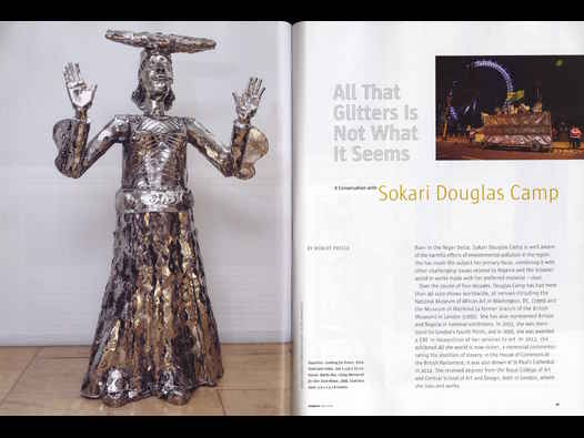 image of All That Glitters Is Not What It Seems: Sokari Douglas Camp interview