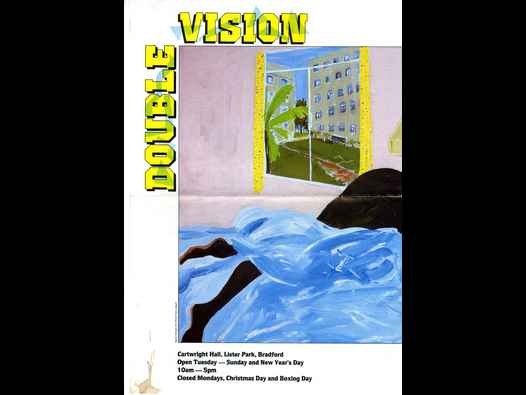 image of Double Vision: exhibition poster/brochure