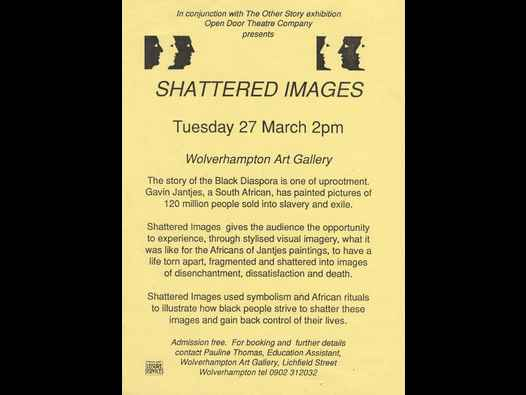 image of Shattered Images - The Other Story/Gavin Jantjes