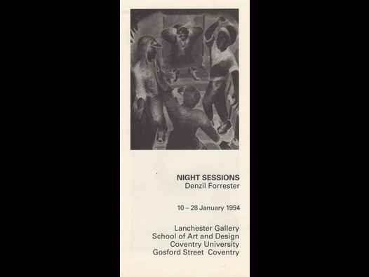 image of Night Sessions - Denzil Forrester brochure