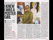 Click to view details and links for I KNEW I WAS A POSTER GIRL - Lubaina Himid