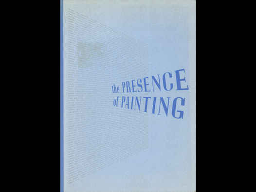 image of The Presence of Painting: Aspects of British Abstraction 1957 - 1988