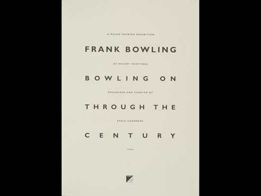 image of Frank Bowling | Bowling on Through the Century