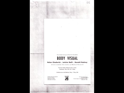 image of Body Visual: Artists Examine the Essense of Medical Science