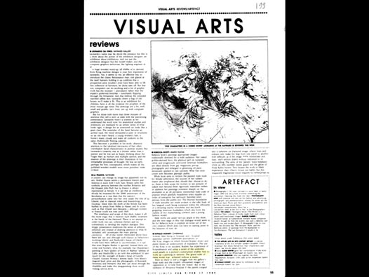image of Visual Arts Reviews/Donald Rodney