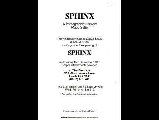 image of Sphinx: A Photographic Herstory