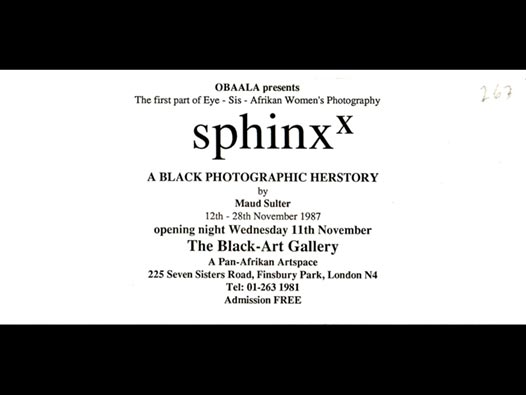 image of Sphinx | A Black Photographic Herstory