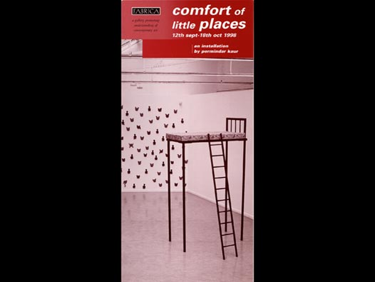 image of Permindar Kaur | Comfort of Little Places - Fabrica exhibition guide