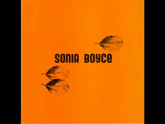 image of Sonia Boyce - AIR Gallery catalogue