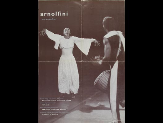 image of Arnolfini | Poster - November 1992