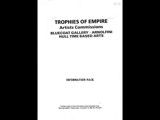 image of Trophies of Empire | Artists Commissions