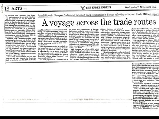 image of A voyage across the trade routes
