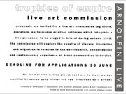 Click to view details and links for Trophies of Empire: live art commission