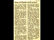 Click to view details and links for Song of Handsworth praise