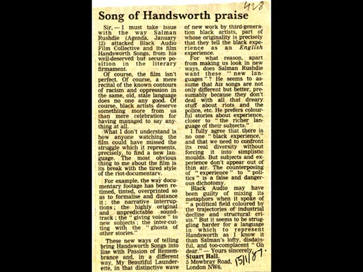 image of Song of Handsworth praise