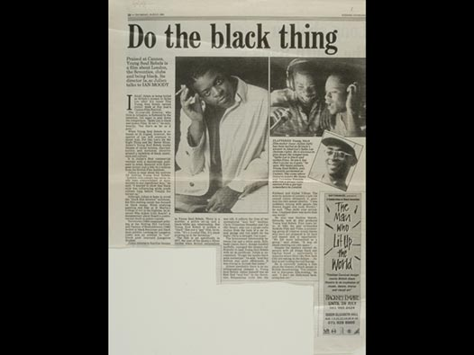 image of Do the black thing