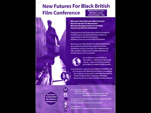 image of New Futures For Black British Film Conference
