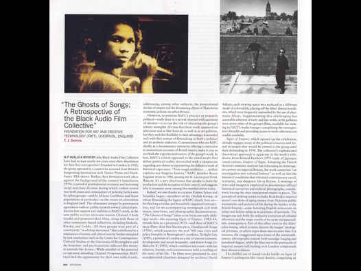 image of The Ghosts of Songs - Artforum International - T.J. Demos