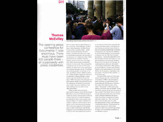 image of Documenta 11- Frieze Review 1