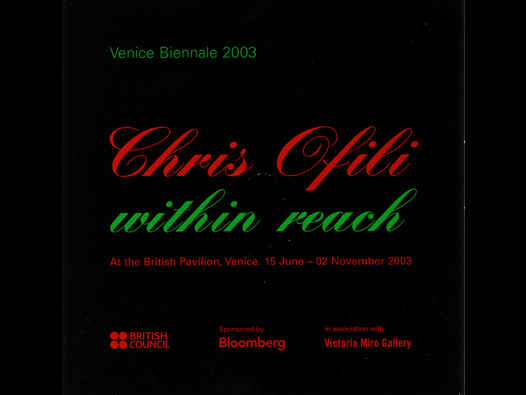 image of Chris Ofili | Within Reach - CD