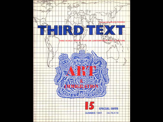 image of Third Text: Art and Immigration