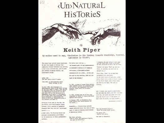 image of <Un>Natural Histories - Keith Piper