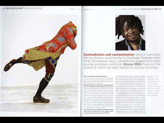 image of Yinka Shonibare | Textiles in Art