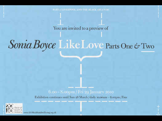 image of Sonia Boyce | Like Love: Parts One & Two