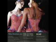 Click to view details and links for Yinka Shonibare, MBE | Odile and Odette - magazine ad.