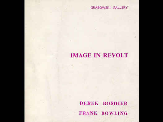 image of Image in Revolt | Derek Boshier and Frank Bowling