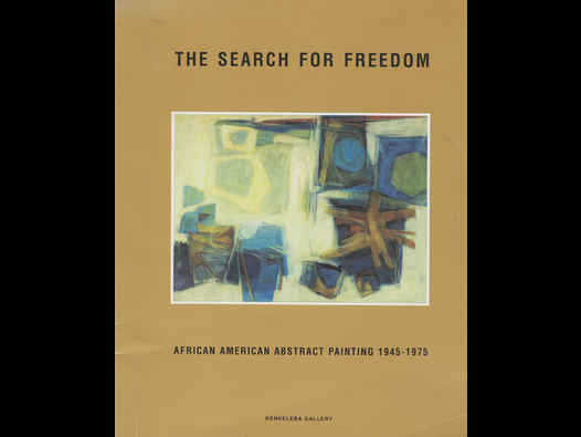 image of The Search For Freedom: African American Abstract Painting 1945-1975
