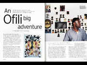 Click to view details and links for An Ofili big adventure - Chris Ofili