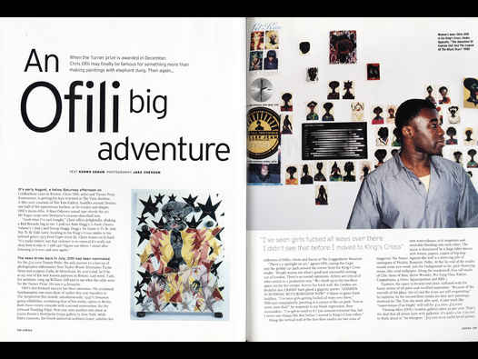 image of An Ofili big adventure - Chris Ofili