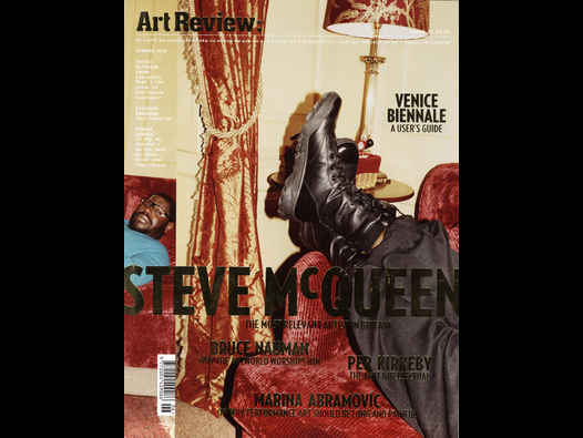 image of Steve McQueen - Art Review Summer 2009