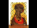 click to show details of Chris Ofili - No Woman, No Cry Postcard