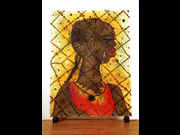 Click to view details and links for Chris Ofili - No Woman, No Cry Postcard
