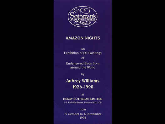 image of Amazon Nights - Aubrey Williams