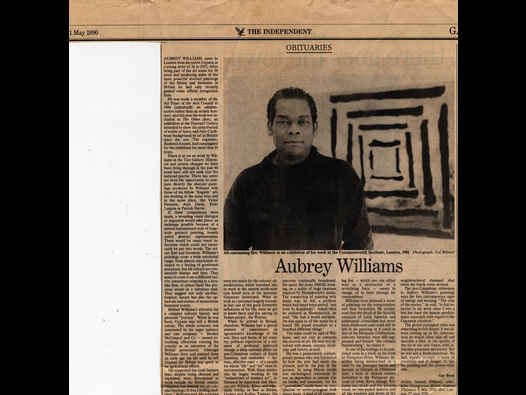 image of Aubrey Williams Obituary The Independent
