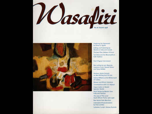 image of Aubrey Williams review - Wasafiri
