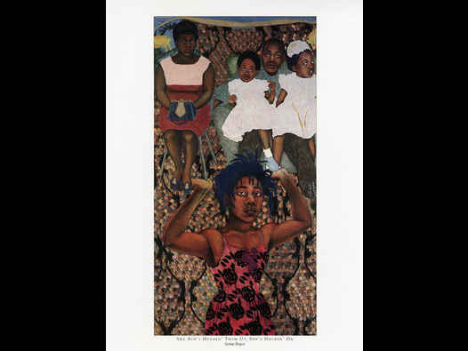 image of Sonia Boyce - She Ain't Holdin' Them Up, She's Holdin' On