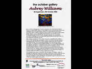 Click to view details and links for Aubrey Williams October Gallery 2002 - press release