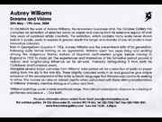 Click to view details and links for Aubrey Williams: Dreams and Visions  - October Gallery 2004 flyer