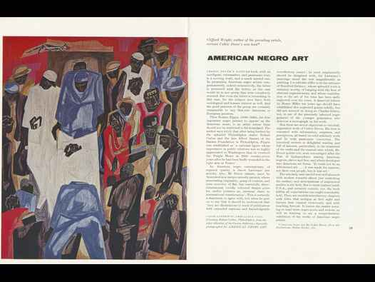image of American Negro Art book review