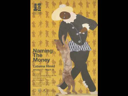image of Naming the Money - flyer