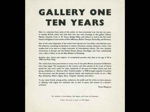image of Gallery One | Ten Years